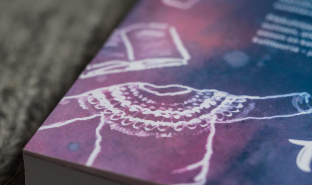 Islantilainen villapaita - piirros Kuva: Terhi Ilosaari