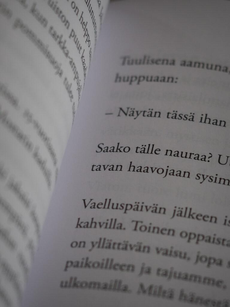 Kirjan aukeama Kuva: Terhi Ilosaari