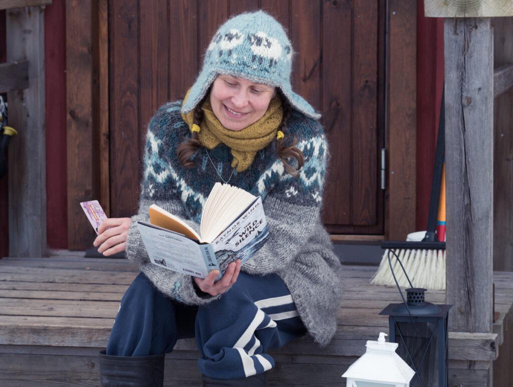 Islantilaisneuleessa tarkenee Kuva: Terhi Ilosaari